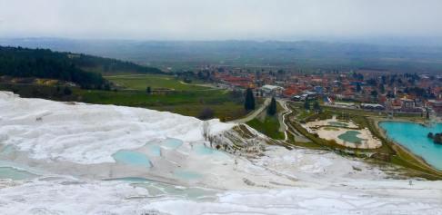 Pamukkale in Winter