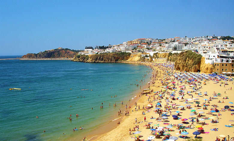 葡萄牙自駕 beach-peneco-albufeira-algarve