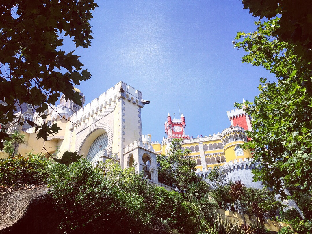 Sintra Pena 辛特拉 佩納堡 - 葡萄牙自駕