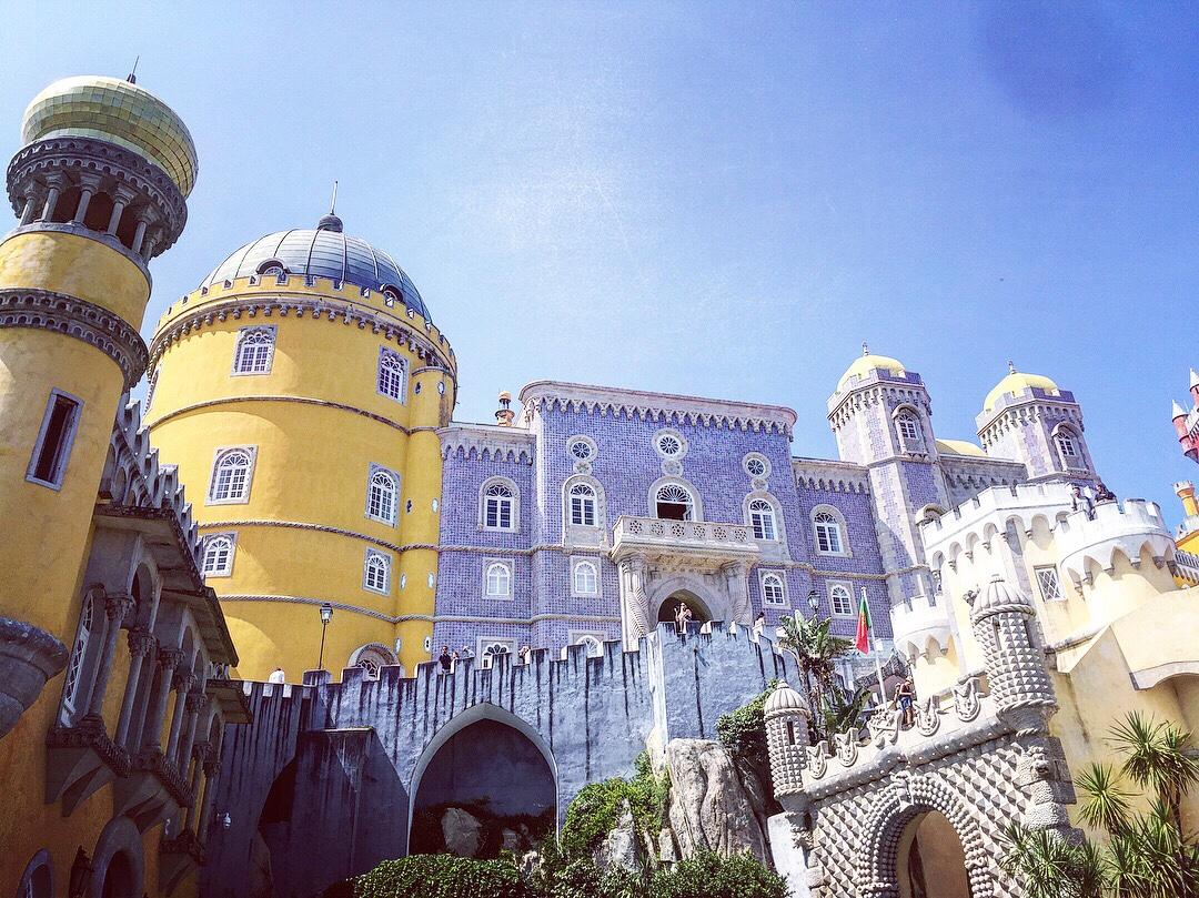Pena  辛特拉的佩納宮-葡萄牙自駕