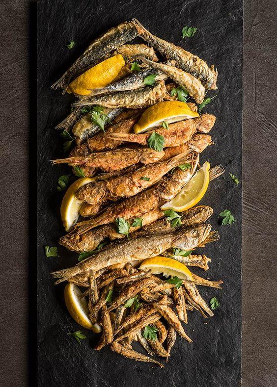 安達露西亞炸魚(pescaito frito)