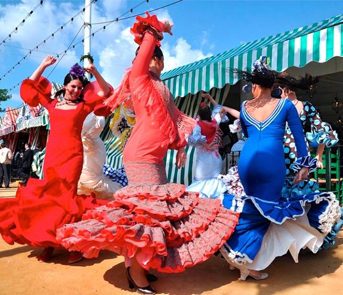 塞維亞春之慶典 feria de Sevilla-熱情舞蹈