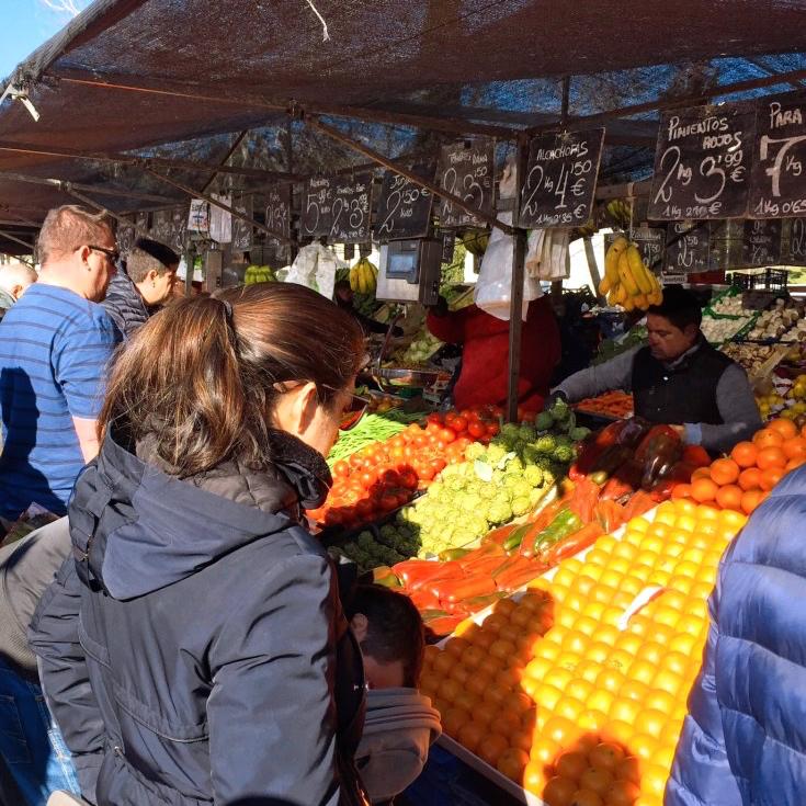 馬德里傳統市場買菜
