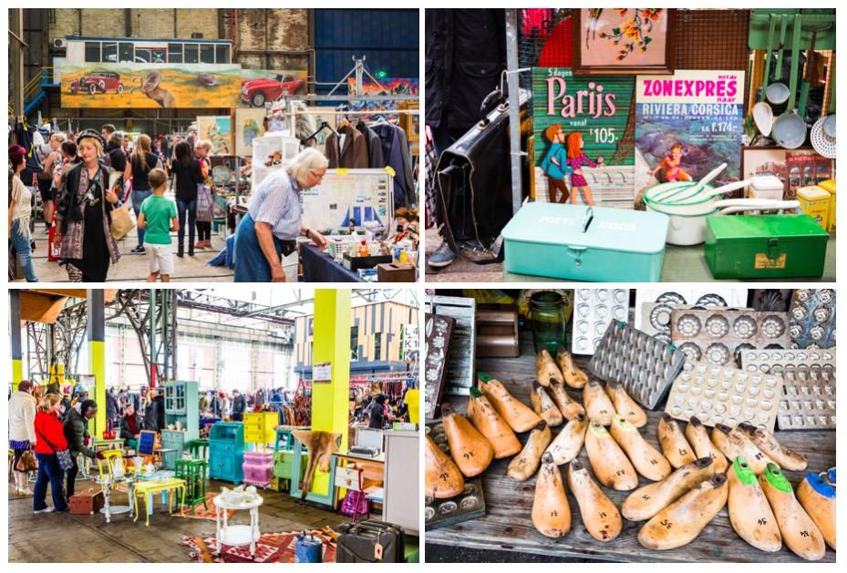 阿姆斯特丹 IJ-Hallen 跳蚤市場/ 圖片來源