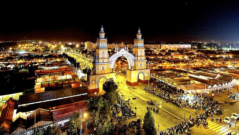 越夜越美越high-塞維亞春之慶典 feria de Sevilla/圖片來源