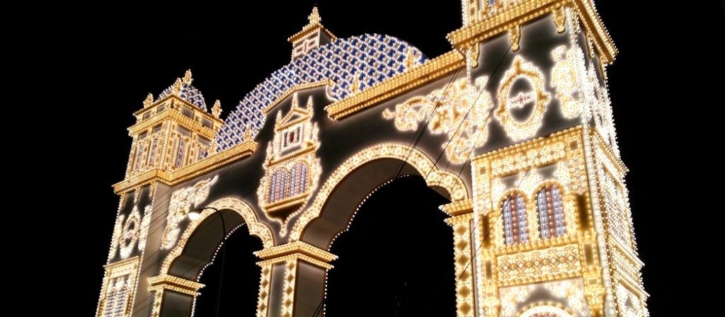 主門點燈-塞維亞春之慶典 feria de Sevilla/圖片來源