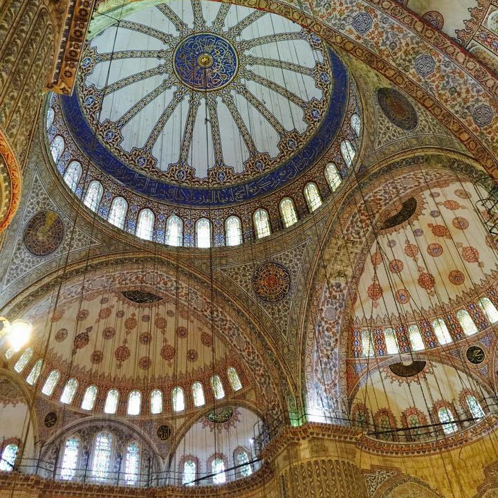 turkey_blue mosque 土耳其自助總費用