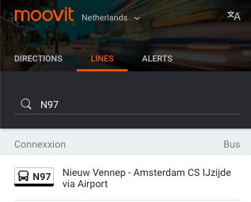 阿姆斯特丹機場巴士 路線搜尋/ 圖片來源