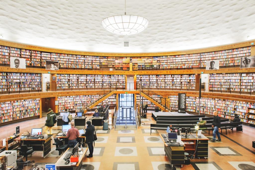 斯德哥爾摩公共圖書館 stockholm-public-library