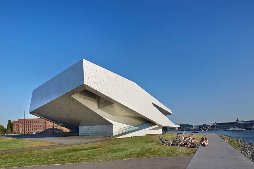阿姆斯特丹 EYE Film Museum/ 圖片來源inexhibit