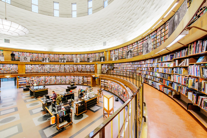 斯德哥爾摩公共圖書館 Stockholm Public Library