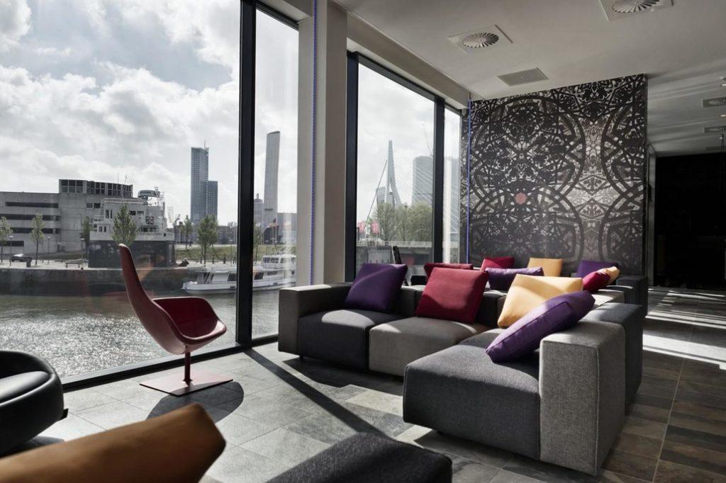 大廳- 鹿特丹住宿推薦:梅恩波特設計酒店/ 圖片來源 Mainport Design Hotel