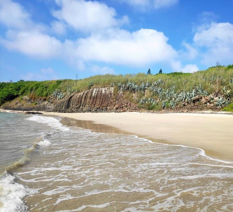 澎湖的美麗沙灘