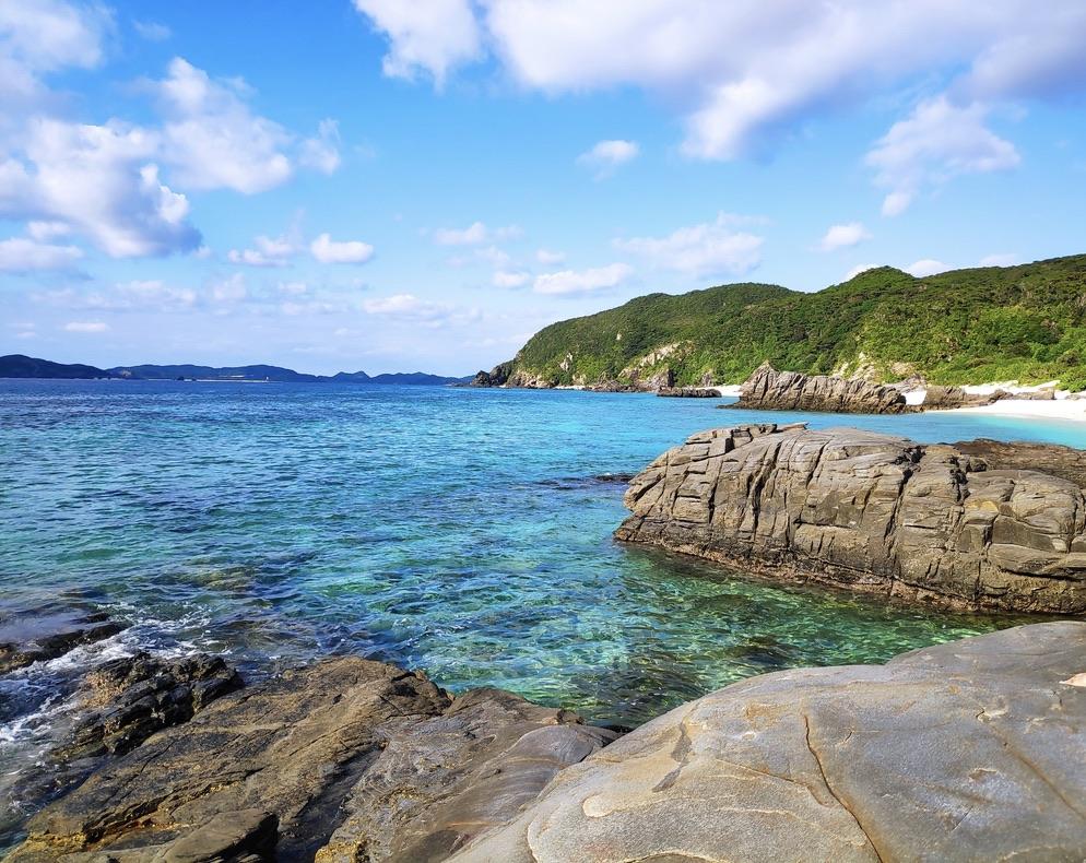 阿波連海灘_渡嘉敷島/慶良間諸島_圖片來源:喬西
