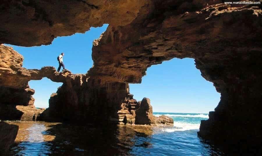 Cova Tallada, Denia, Alicante/ 圖片來源:pinterest