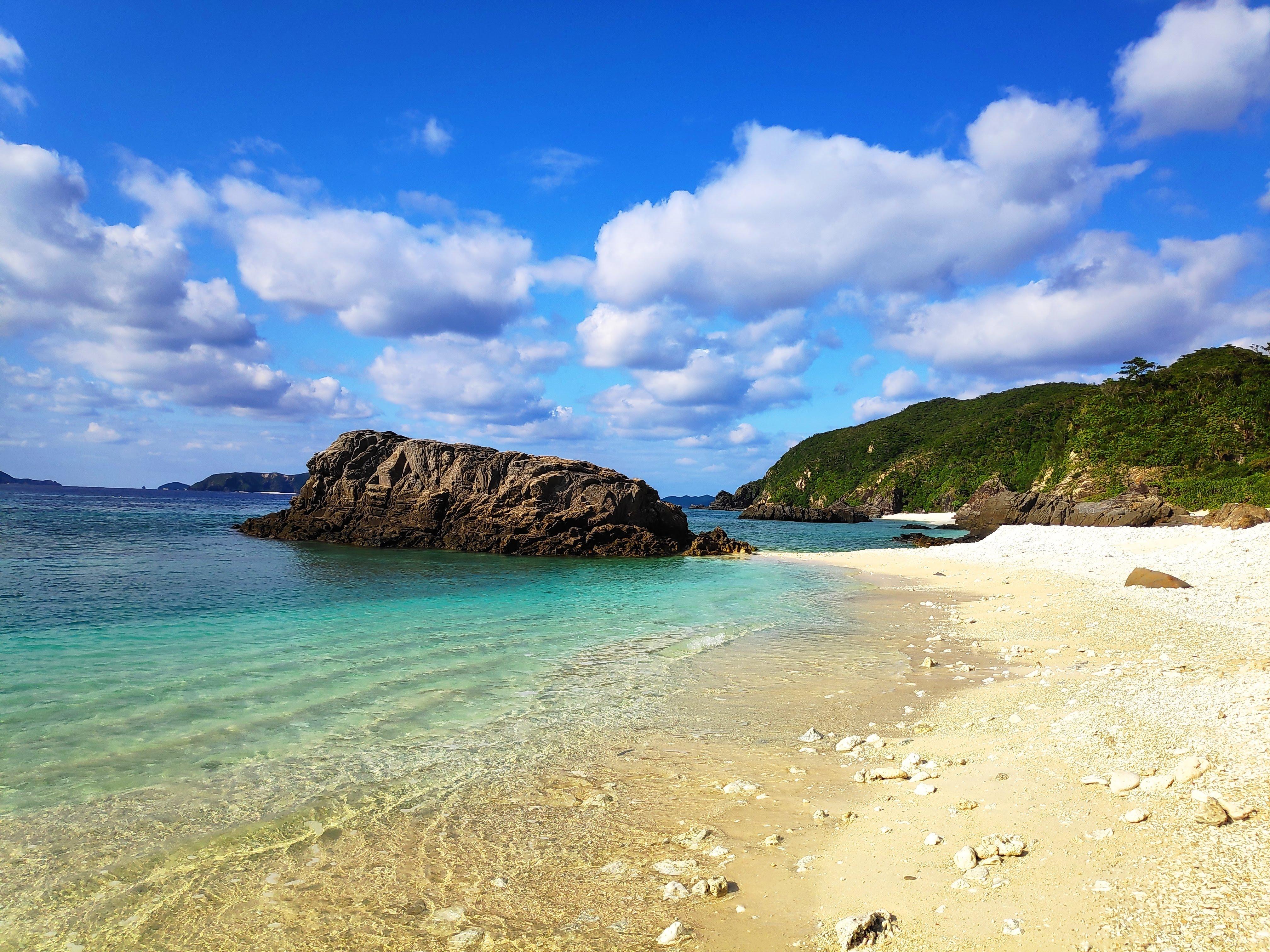 阿波連海灘 渡嘉敷島/慶良間諸島_圖片來源:喬西